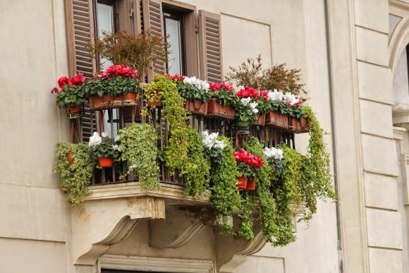 Designa din balkong