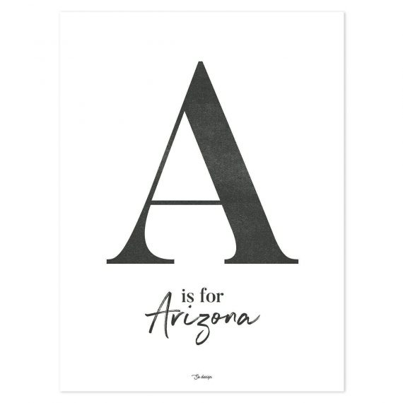 A For Arizona Poster – 30×40 cm