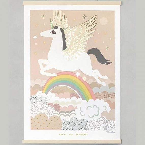 ABOVE THE RAINBOW poster – 50×70 cm