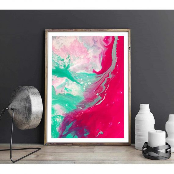 Abstract painting poster – 50×70