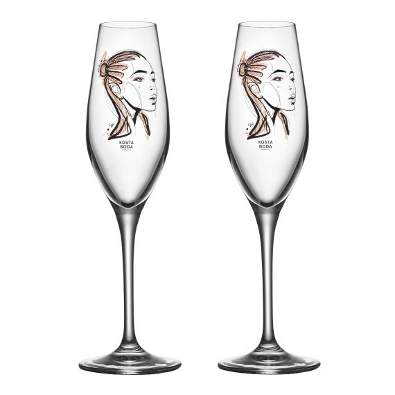 All About You Champagneglas 2-pack Forever Yours