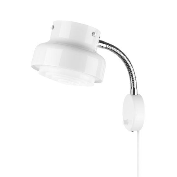 Atelje Lyktan Vägglampa Bumling Mini 19cm Vit
