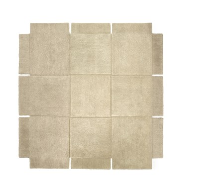 Basket Matta Beige 180×180 cm