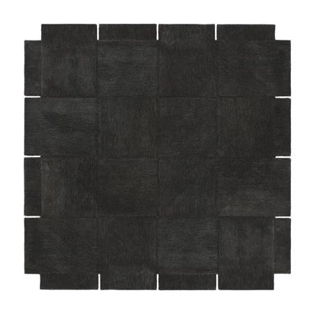 Basket Matta Mörkgrå 245×245 cm
