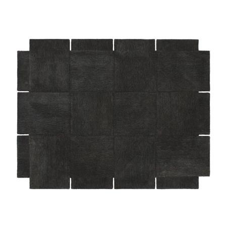 Basket Matta Mörkgrå 245×300 cm