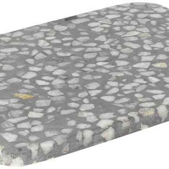 Blomus Omeo Bricka Grå Terrazzo 20 X 15 cm