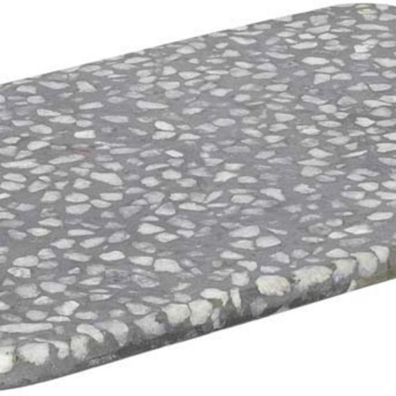 Blomus Omeo Bricka Grå Terrazzo 30 X 15 cm
