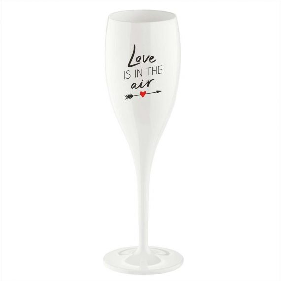 CHEERS Champagneglas – Love is in the air – 6-pack