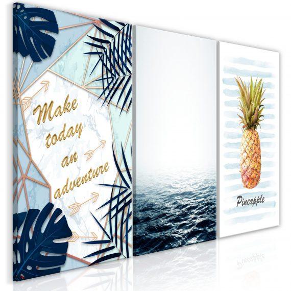 Canvas Tavla – Pineapple Quote