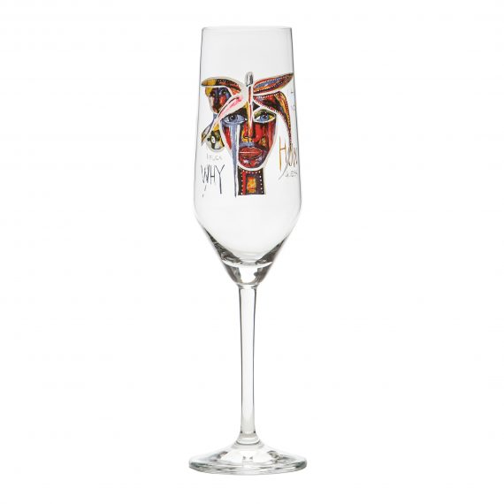 Champagneglas 30 cl Butterfly Messenger IV