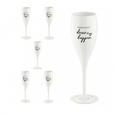 Champagneglas Cheers No.1 Make dreams happen 6-pack 100 ml