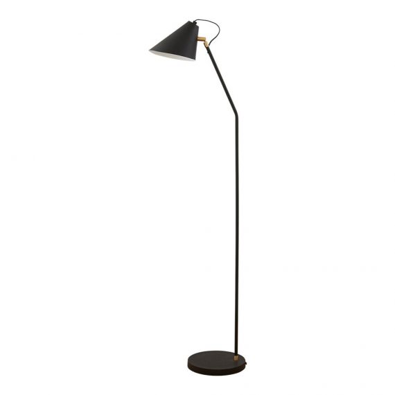 Club Golvlampa H130cm Svart – House Doctor
