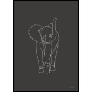 DIGITAL ELEPHANT – Poster 50×70 cm