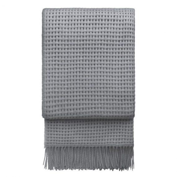 Designtorget Pläd Basket Light grey