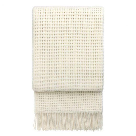 Designtorget Pläd Basket Off white