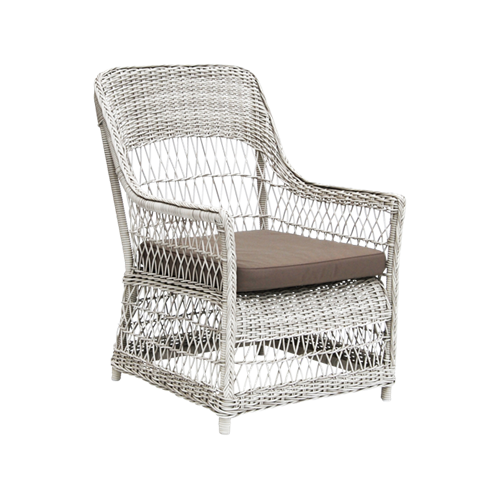 Fåtölj Dawn lounge chair Vintage white, Sika-design