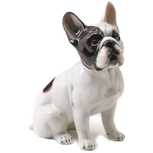 Fransk bulldog Porslinsdjur 46 cm