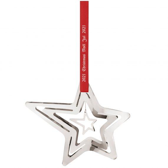 Georg Jensen 2021 julstjärna stjärnfall, palladium