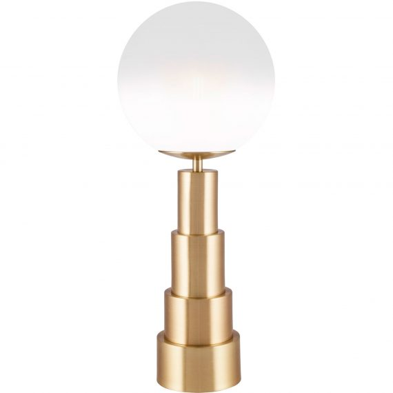 Globen Lighting Astro Bordslampa 20 cm, borstad mässing