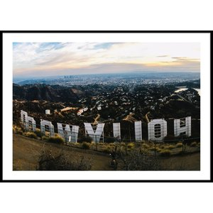 HOLLYWOOD SIGN – Poster 50×70 cm