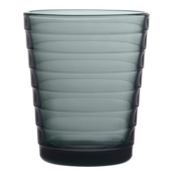 Iittala Aino Aalto Glas 22 cl 2 st. mörkgrå
