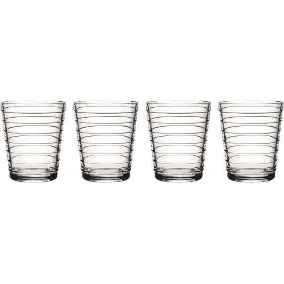 Iittala Aino Aalto Glas 22cl 4 st, Klar
