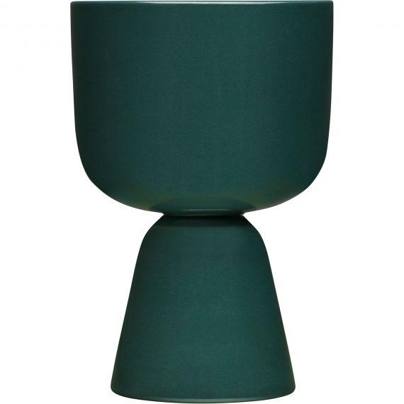 Iittala Nappula kruka 230x155mm, mörkgrön