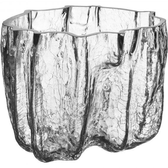 Kosta Boda Crackle Skål 16 cm.