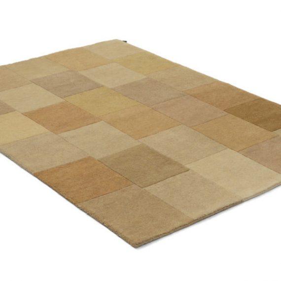 Lumbini beige – handknuten matta