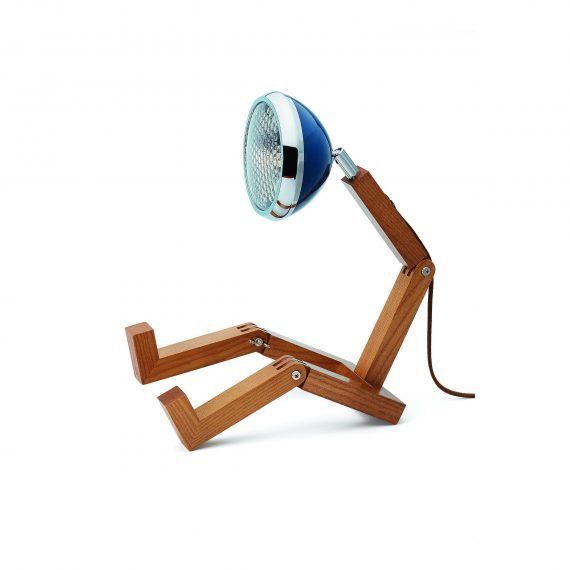 MR WATTSON Lampa / Bordslampa – Cobra Blue