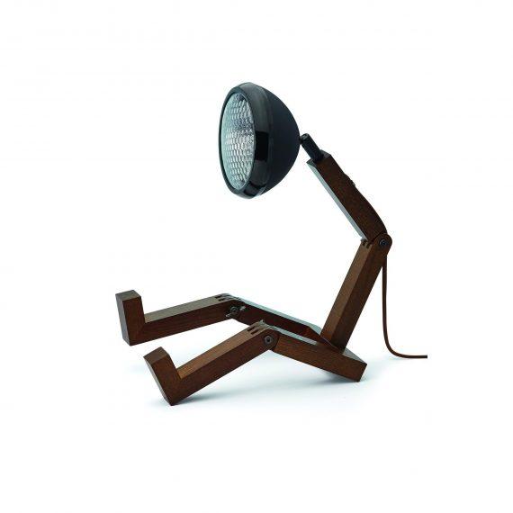 MR WATTSON Lampa / Bordslampa – Matt Svart