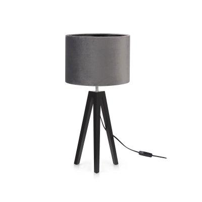 Markslöjd Bordslampa LUNDEN Svart/Grå