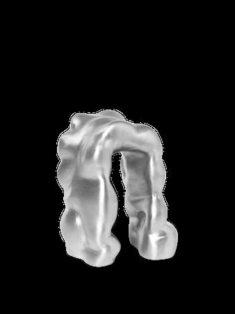 Morf Skulptur Brushed Aluminium
