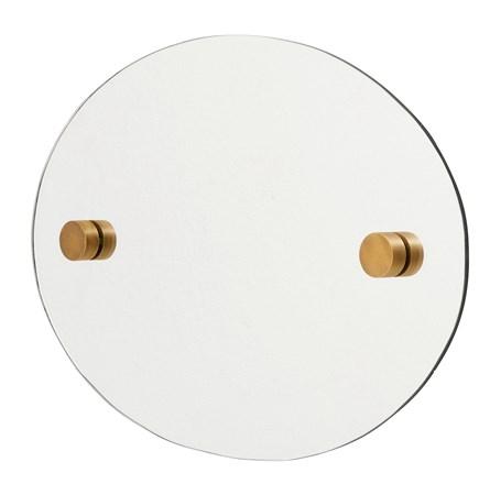 Nordal Oval spegel 35×50 cm – Mässing