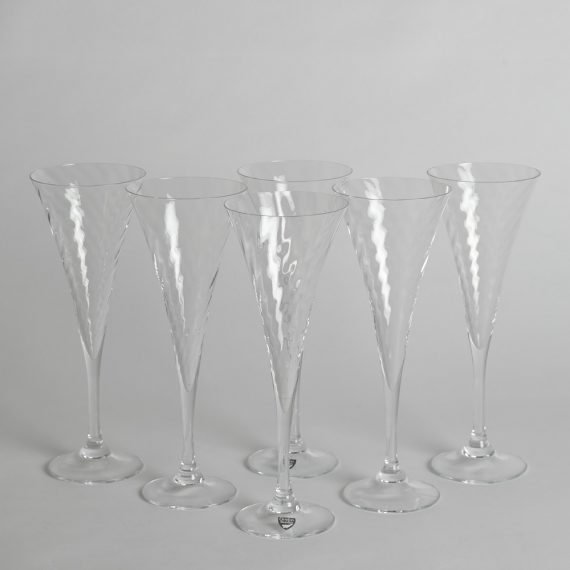 "Orrefors – Champagneglas ""Helena"" 6 st"