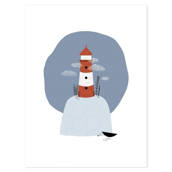 The Lighthouse Poster – 30×40 cm