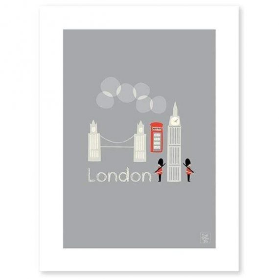 This Is London Poster – 30×40 cm