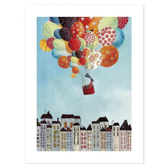 Trip Over The City Poster – 30×40 cm
